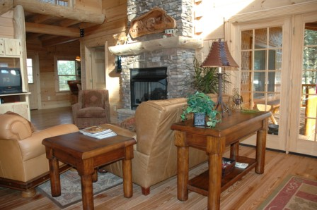 Jim barna log home floor plans